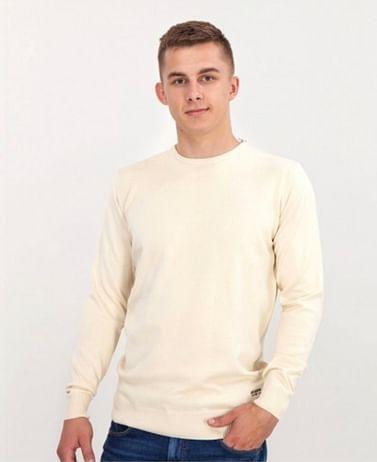 Хлопковый приталенный свитер Lee Cooper ANDY COTTON SHELL