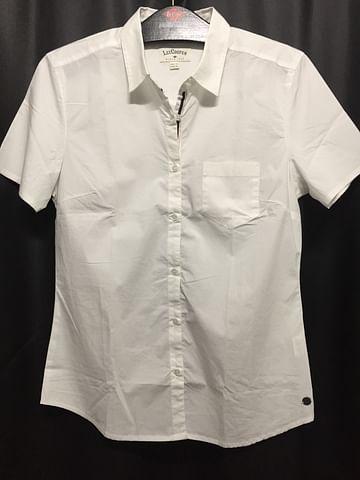 Рубашка женская приталенная Lee Cooper COLBIE2 1601 WHITE