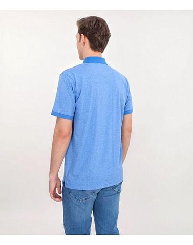 Поло с принтом спереди Lee Cooper MAURICE 2614 BLUE