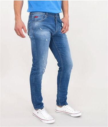 Джинсы мужские Slim Lee Cooper HUNTER 2121 DESTROYED