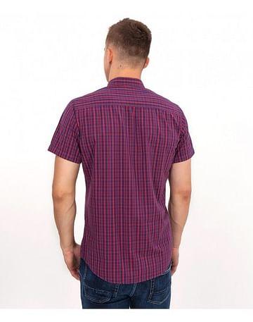 Рубашка Slim с короткими рукавами Lee Cooper LARGUS2 5240 RED