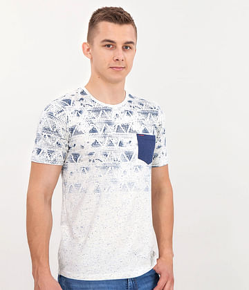 Майка с карманом спереди Lee Cooper SOLOMON 9000 OFF WHITE