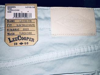 Джинсы женские Slim Lee Cooper LC133 6523 TURCQUOISE