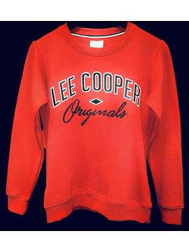 Байка с логотипом Lee Cooper KAYA 5050 RED