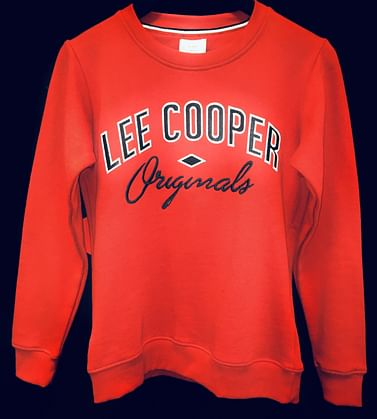Байка с логотипом Lee Cooper KAYA 5050 RED