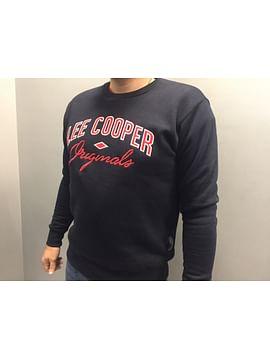Байка с принтом на груди Lee Cooper KURT 3330 NAVY