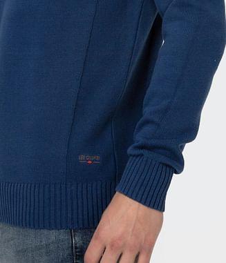 Хлопковый свитер Lee Cooper BILL COTTON BLUE