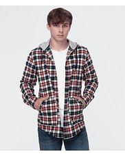 Рубашка Regular с капюшоном Lee Cooper RAMON 3123 RED