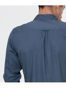 Рубашка Slim с длинными рукавами Lee Cooper JADE 2231 BLUE