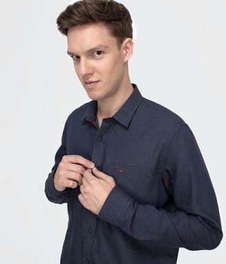 Рубашка Regular с длинным рукавом Lee Cooper JAKS 2215 NAVY