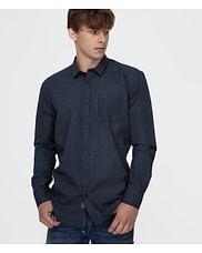 Рубашка Comfort с микропринтом Lee Cooper JAY 2766 NAVY