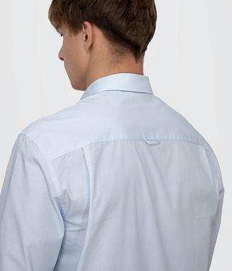 Рубашка Comfort с длинным рукавом Lee Cooper JIM 2770 BLUE