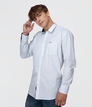 Рубашка Comfort с длинными рукавами Lee Cooper JIM 2770 BLUE