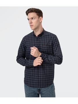 Рубашка Regular в клетку Lee Cooper JOGG 2233 NAVY
