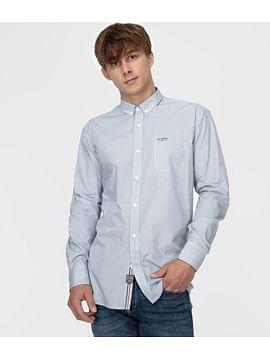 Рубашка Comfort с микропринтом Lee Cooper JAKE 2206 BLUE