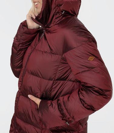 Стеганый пуховик с капюшоном Lee Cooper GALA 2020 RED
