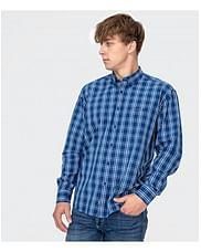 Рубашка Comfort в клетку Lee Cooper NEW TENBY KZ33 BLUE