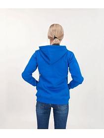 Толстовка на молнии с капюшоном Lee Cooper CARMEN 9556 TRUE BLUE