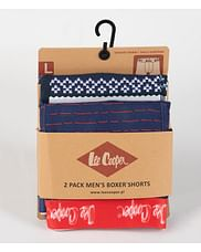 Боксеры Lee Cooper DUOBOX 9515 BLUE STRIPES (2 штуки)