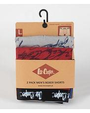 Боксеры Lee Cooper DUOBOX 9518 GREY RED (2 штуки)
