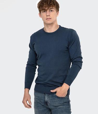 Приталенный свитер Lee Cooper ANDY COTTON DUTCH NAVY