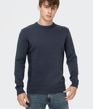 Хлопковый свитер Lee Cooper BILL COTTON BLACK SLATE