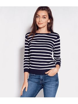 Свитер в полоску с рукавами 3/4 Lee Cooper ZUZA 1729 STRIPE