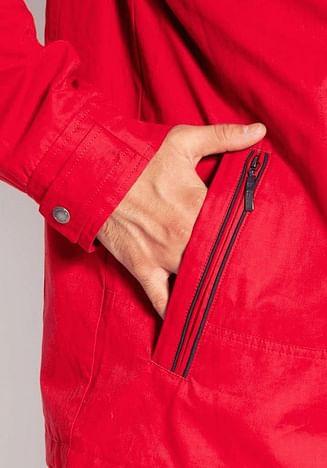 Куртка с капюшоном Lee Cooper DENNIS 9090 RED