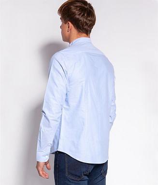 Рубашка Regular с воротником-стойкой Lee Cooper HEFF 2278 BLUE