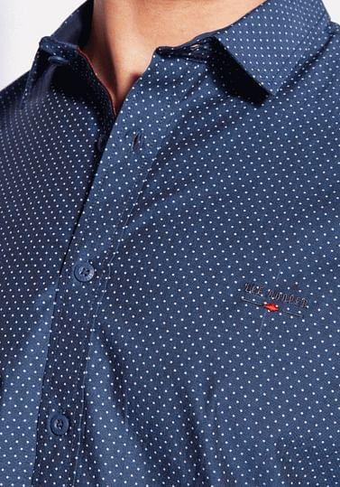 Рубашка Regular с микропринтом Lee Cooper HILARY 2237 NAVY