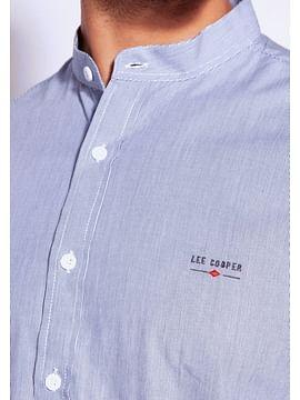 Рубашка Regular с воротником-стойкой Lee Cooper HUGO 2285 BLUE