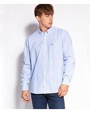 Рубашка Comfort с полосками Lee Cooper TENBY 58PL BLUE