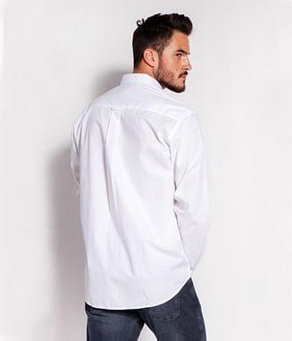 Рубашка Comfort с длинным рукавом Lee Cooper TENBY 62GL WHITE