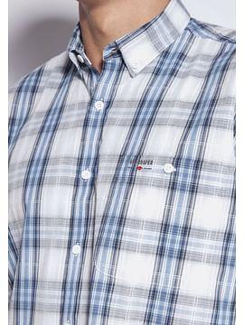 Рубашка Comfort в крупную клетку Lee Cooper NEW TENBY2 20KL BLUE