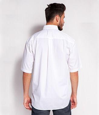 Хлопковая рубашка Comfort Lee Cooper TENBY2 62GL WHITE