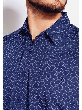 Рубашка Regular с короткими рукавами Lee Cooper REVIO2 69PM NAVY