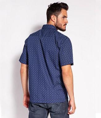 Рубашка Regular с коротким рукавом Lee Cooper REVIO2 69PM NAVY