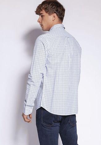 Рубашка Regular в клетку Lee Cooper REY 45KL WHITE