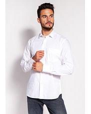 Рубашка Slim с длинным рукавом Lee Cooper WINDSOR 62GL WHITE