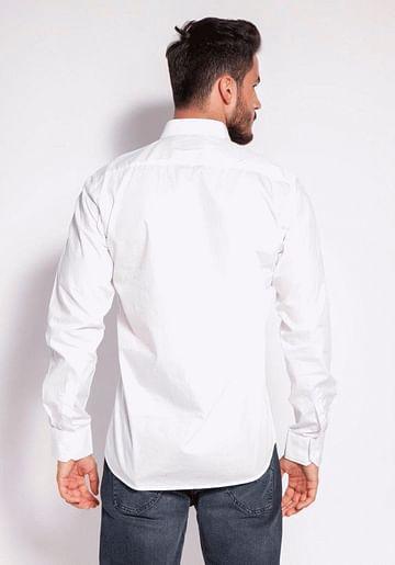 Рубашка Slim с длинными рукавами Lee Cooper WINDSOR 62GL WHITE