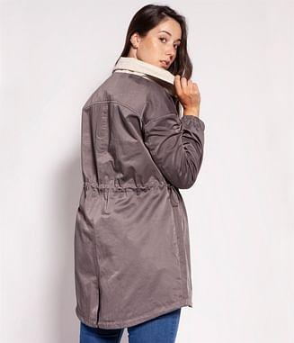 Куртка-парка Lee Cooper CLAIRE 1075 BEIGE