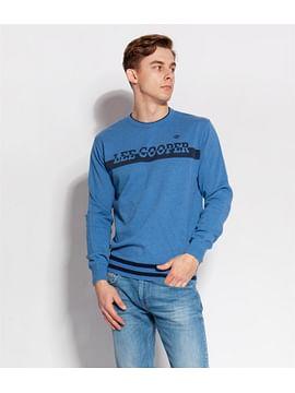 Свитер с логотипом Lee Cooper REVAL 9053 BLUE