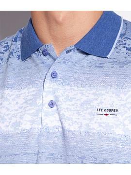 Поло мужское Lee Cooper TRISTAN 2685 BLUE