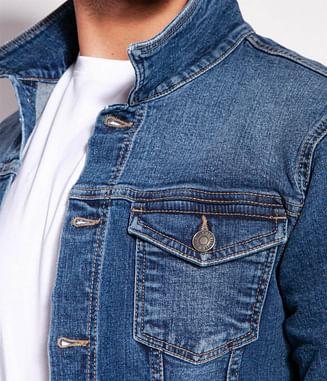 Джинсовая куртка Lee Cooper BOGLY 2059 BRUSHED US