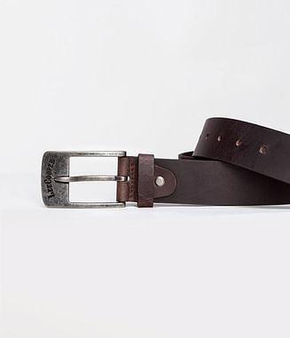 Ремень кожаный Lee Cooper LCJ 94 BROWN