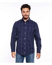 Рубашка Regular в клетку Lee Cooper JEREMY 6163 NAVY