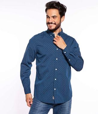 Рубашка хлопковая Regular Lee Cooper JERRY 6103 NAVY