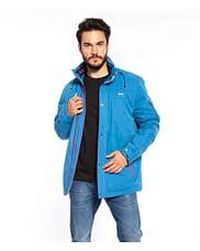 Куртка со скрытым капюшоном Lee Cooper CARLOS 2021 BLUE