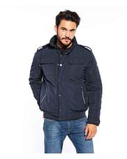 Куртка с убирающимся капюшоном Lee Cooper FABIO 9036 NAVY