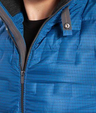 Пуховик с воротником-стойкой Lee Cooper FRANK 3276 BLUE
